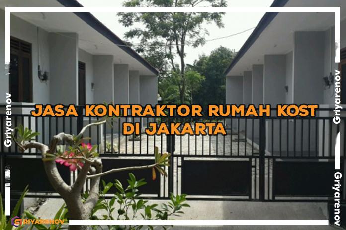 jasa kontraktor rumah kost di Jakarta